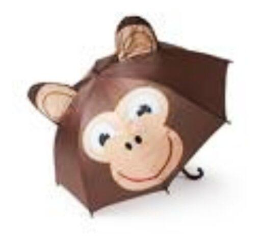 Paraguas Pop Up Umbrella Monkey Animación Changuito_1