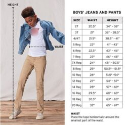 Pantalon Niño Levis Strauss 505 Regular 510 Skinny Mezclilla_1
