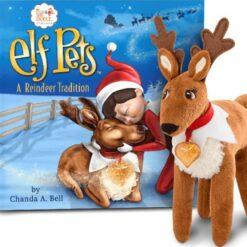 Elf On The Shelf Original Reno Navideño Peluche Usado Pets_0