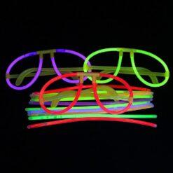 Lentes De Neon Tuny Glow Para Fiestas Kit De 5 Lentes Pack_6