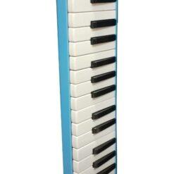 Melodica Mini Piano Usada 37 Teclas Azul Con Estuche Maxima _0