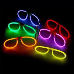 Lentes De Neon Tuny Glow Para Fiestas Kit De 5 Lentes Pack_1