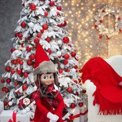 Conjunto Polar Abrigador The Elf On the Shelf Reversible_1