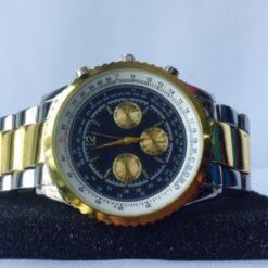 Reloj Acero Inoxidable Cuarzo Pulsera Hombre_0
