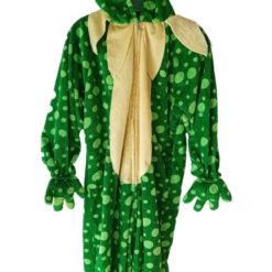 Pijama Disfraz Rana Niños 7 - 9 Años Tipo Mameluco_0