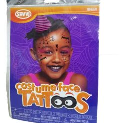 Carita De Brujita Tatuajes Temporales Halloween Costume Face_0