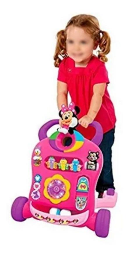 Andador Caminadora De Actividad Sonidos Minnie Mouse Luces_1