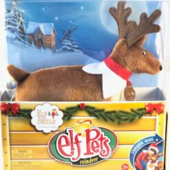 Elf On The Shelf Original Reno Navideño Peluche Navidad Pets_3