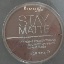 Polvo Compacto Para Cara Stay Matte Color Beige De Rimmel Cr_1