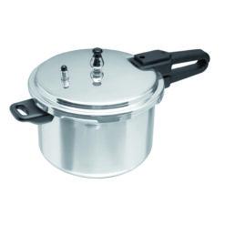 Olla De Presión Aluminio 5.7 Litros IMUSA 6 Qt Gourmet_0