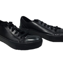 Tenis TredeSafe Resistentes Resbalones Aceite Color Negro _1