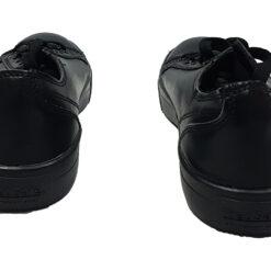 Tenis TredeSafe Resistentes Resbalones Aceite Color Negro _2