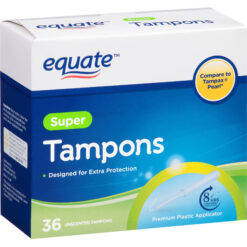 Tampones Equate Super Tampons Extra Protection 36 Unidades_0
