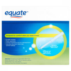 Tampones Equate Super Tampons Extra Protection 36 Unidades_1